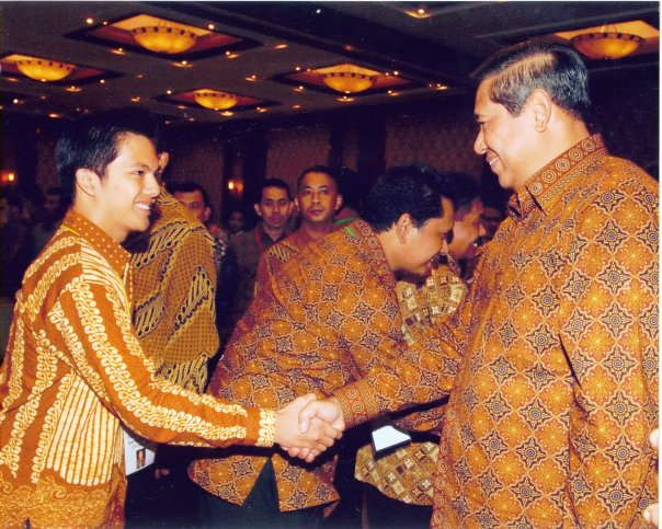 Direktur Utama bersama Presiden RI